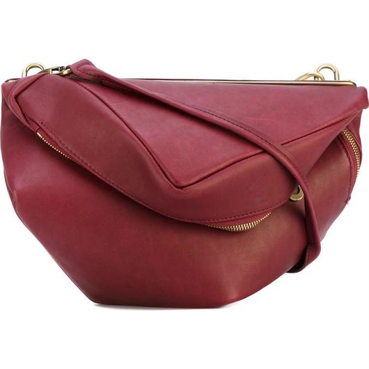 【28406】AUDE Alias Cowhide leather本革 - Garnet red Cote&Ciel コートエシエル