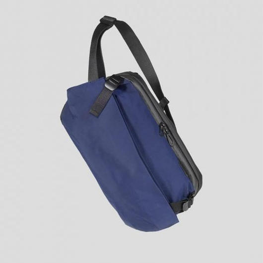 【28416】RISS  MEMORY TECH  - Midnight blue Cote&Ciel コートエシエル ボディバッグ