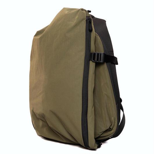 ☆夏セール【28537】ISAR SMALL  MEMORY TECH - Olive Green (S size)   Cote&Ciel コートエシエル リュックサック
