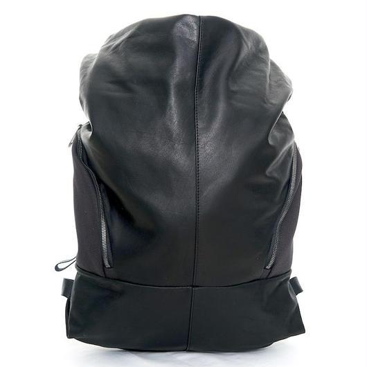 ★2018 新作【28661】Timsah  Alias Cowhile Leather 本革 - Black    Cote&Ciel コートエシエル リュックサック