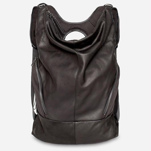 ★2018 春新作【28661】Timsah  Alias Cowhile Leather 本革 - Black    Cote&Ciel コートエシエル リュックサック