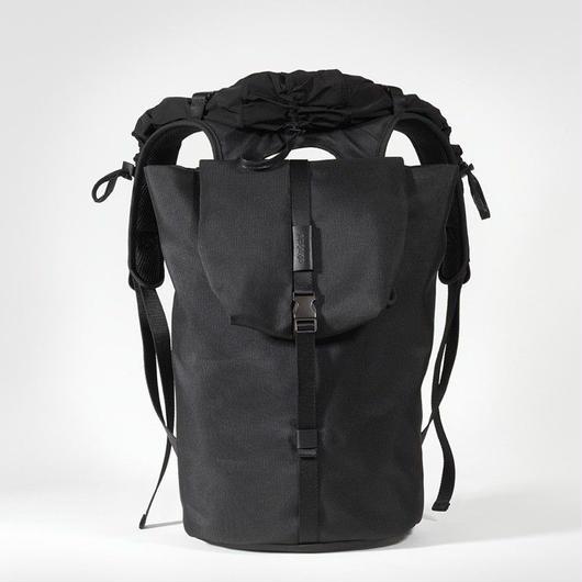 【28472 】TIGRIS  ECO YARN - Black  Cote&Ciel コートエシエル リュックサック