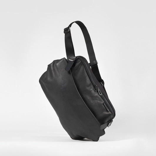 【28463】RISS ALIAS  COATED CANVAS - Black   Cote&Ciel コートエシエル ボディバッグ