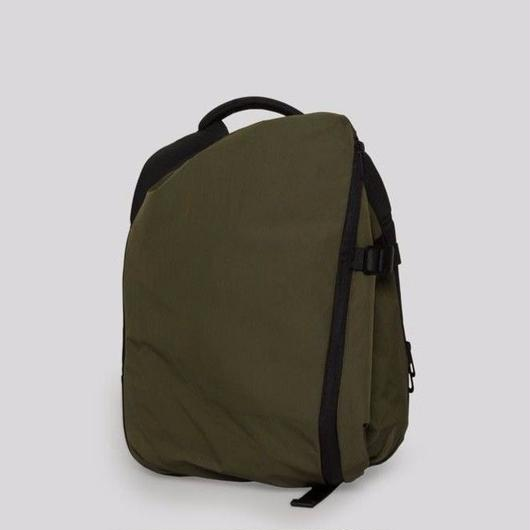 【28537】ISAR SMALL  MEMORY TECH - Olive Green (S size)   Cote&Ciel コートエシエル リュックサック