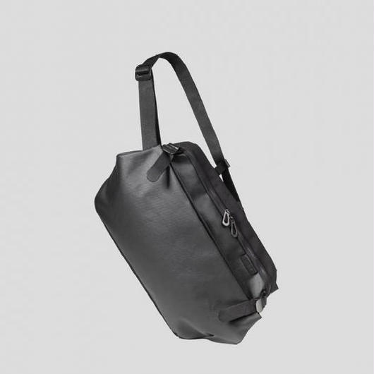 【28394】RISS  COATED CANVAS - Black 【SALE】Cote&Ciel コートエシエル ボディバッグ