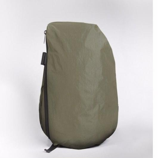 【28340】ISAR TWIN TOUCH  MEMORY TECH - Olive Green and Black  Cote&Ciel コートエシエル リュックサック