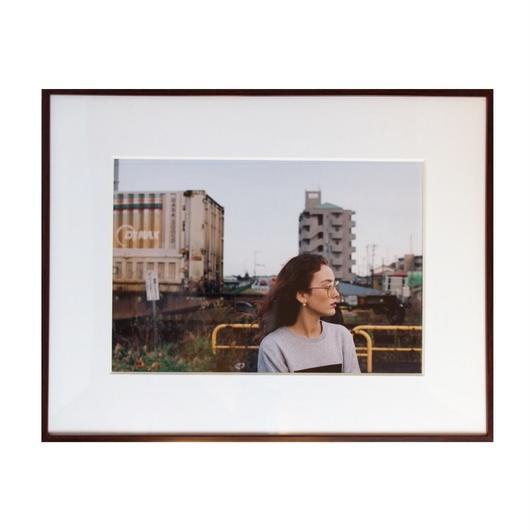 Minami Sendai - Strength Photograph 額付き