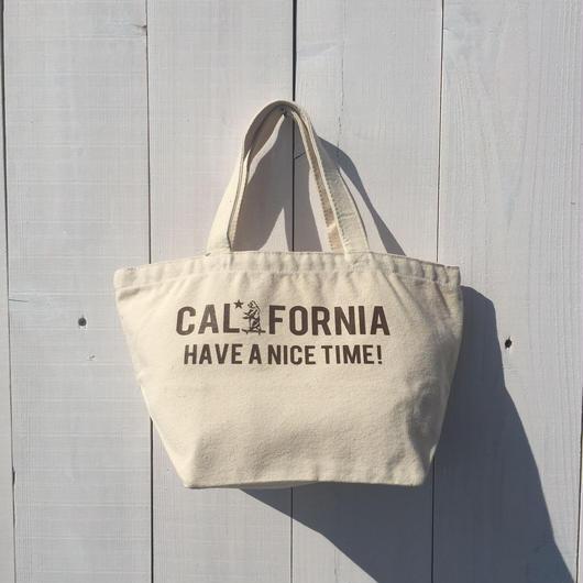 カリフォルニア ミニトートバック CALIFORNIA HAVE A NICE TIME! ベア