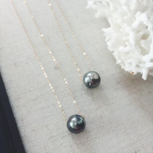 14KGF Tahitian Pearl Necklace