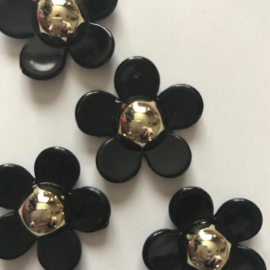 デイジーパーツブラック×ゴールドMサイズ