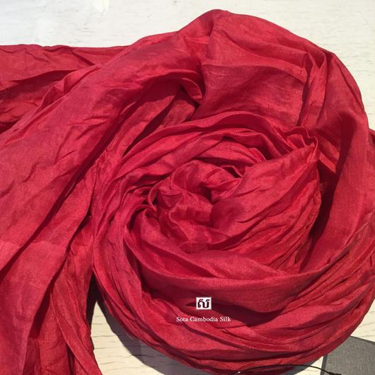 ソウタカンボジアシルク ソフトシルクスカーフ ハンドメイド 手織りスカーフ 人気スカーフ プレゼント ギフト商品 期間限定 カンボジアシルクスカーフ カンボジアシルク雑貨 人気スカーフ