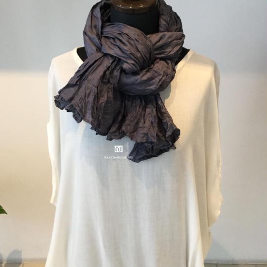 ソウタカンボジアシルク シルクスカーフ お誕生日プレゼント ギフト商品 人気スカーフ 手織りスカーフ 着物 ダマスク 更紗 ファッション カンボジアシルクスカーフ カンボジアシルク雑貨 期間限定