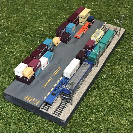 貨物ターミナル ジオラマ