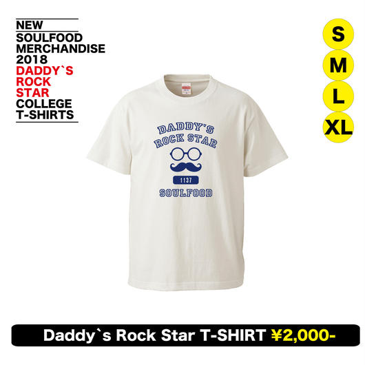 Daddy`s Rock Star College T-Shirts