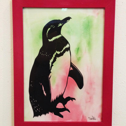 ペンギン(桃色)-pengin(momoiro)-