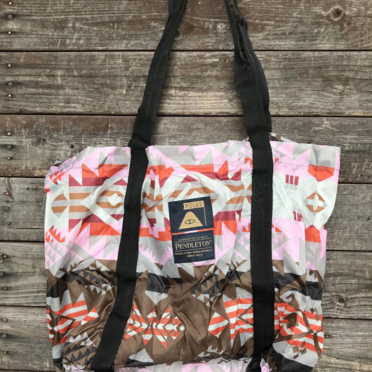 "POLER x PENDLETON ""STUFFABLE TOTE"""