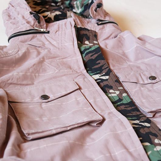 チェック柄  M65 Jacket