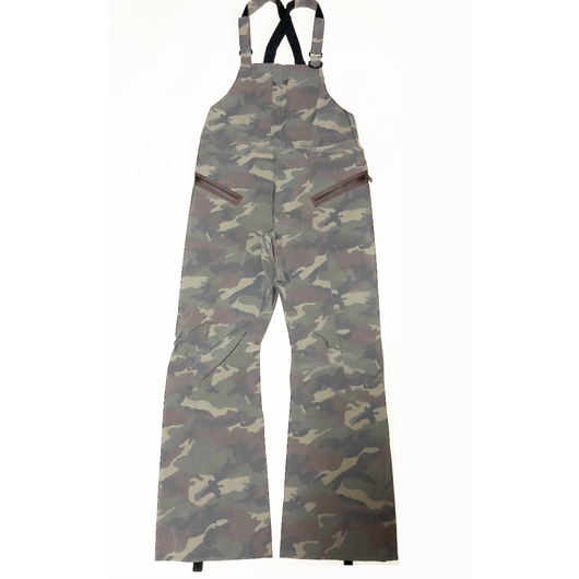16-17シーズン旧モデルBib Pants 3Layer Woodland Camo