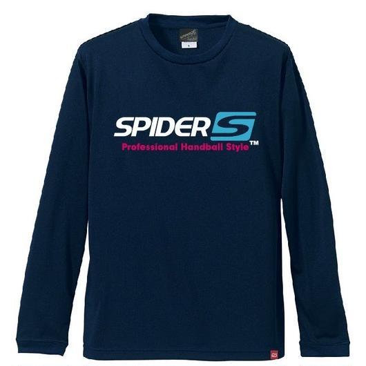 SPIDERロングTシャツ SP-LT01/ネイビー