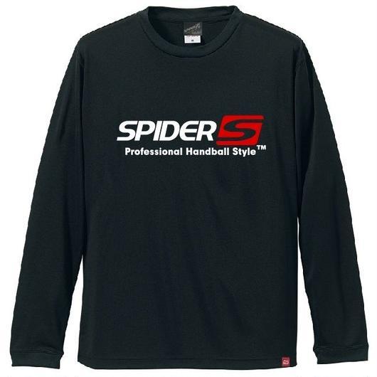 SPIDERロングTシャツ SP-LT01/ブラック