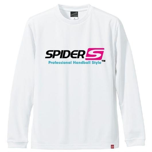 SPIDERロングTシャツ SP-LT01/ホワイト