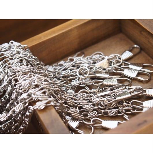 シルバーS字チェーン40cm 持ち手 バッグハンドル