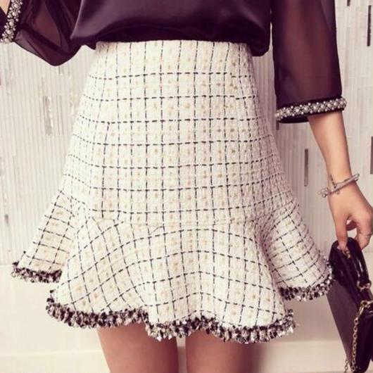ツイード♡スカート