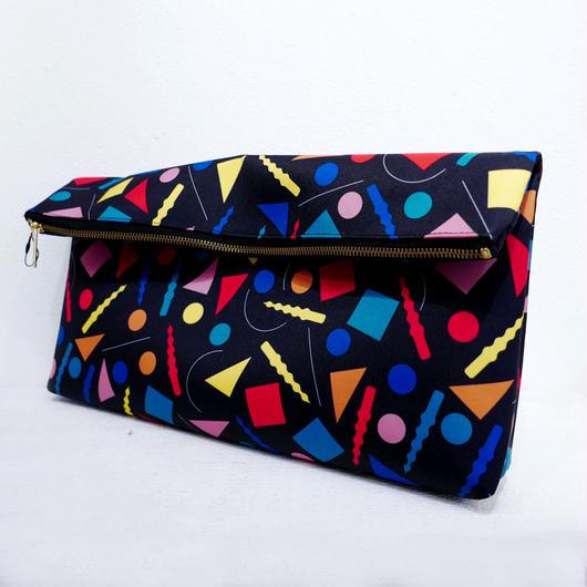 CLUTCH BAG<NEO ○△□>