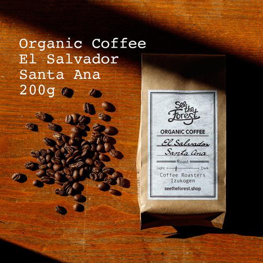 オーガニックコーヒー エルサルバドル サンタアナ 200g