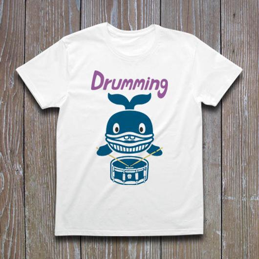 クジラのドラマー  Tシャツ