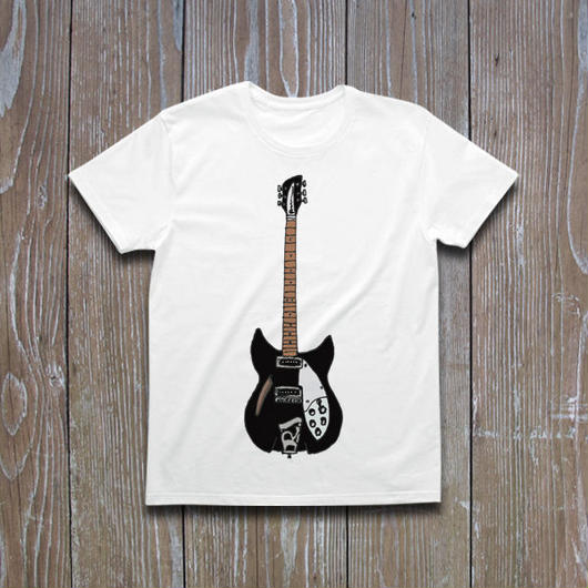 Rickenbacker330 Jetglo  Tシャツ