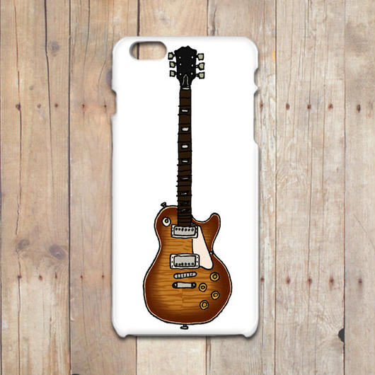 GIBSON Les Paul  #2  iPhone X/8/7/6/6s/5/5sケース