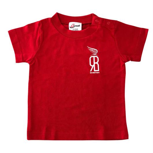 RED BIRD 乳幼児 Tシャツ レッド 80 , 90cmサイズ