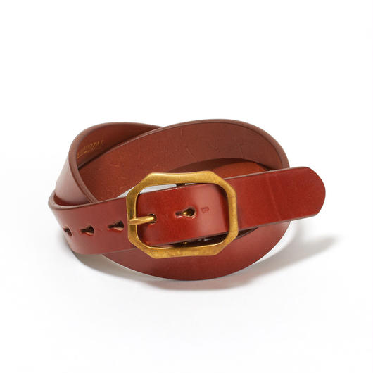 HEAVY STIRRUP BELT / OXFORD TAN