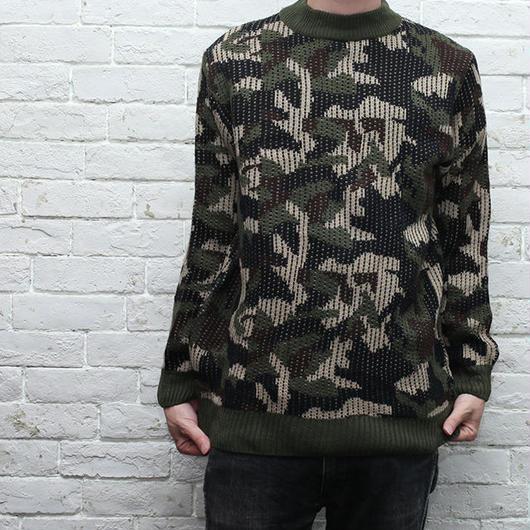 ウッドランドカモ セーター