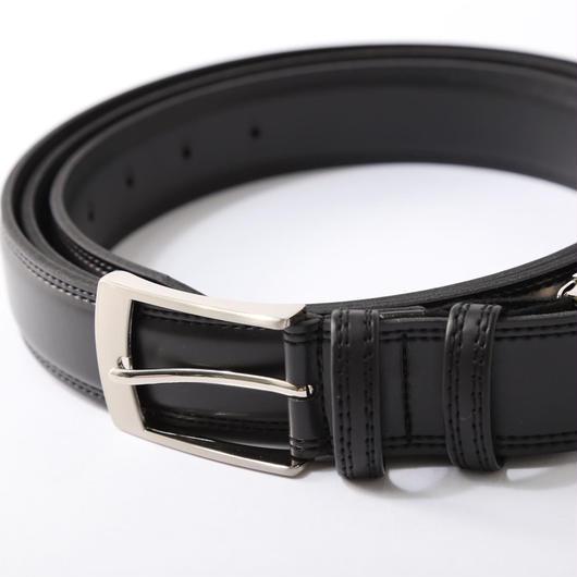 全長170cmの伸縮ベルト『ストレッチスター』ピンタイプ合皮 3.5cm幅 黒  メンズ 長い  ビジネスベルト   スーツ   紳士  ベルト ゴルフ 伸縮 伸びる ロング ずり落ちない