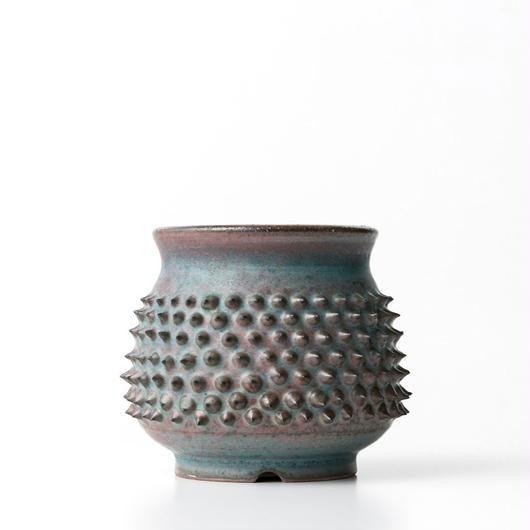 植木鉢:圭介窯【トゲモノ】KG-142