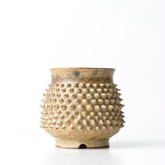 植木鉢:圭介窯【トゲモノ】KG-143