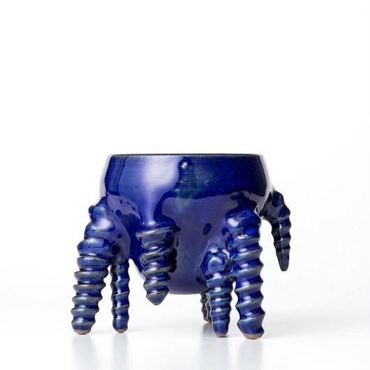 植木鉢:圭介窯【タコモノ】KG-090