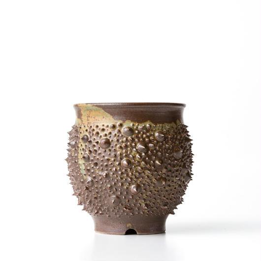 植木鉢:圭介窯【トゲモノ】KG-138