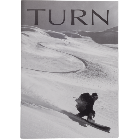 Pinup magazine「It's your TURN VOL.1」(TURN Snowboard Special)