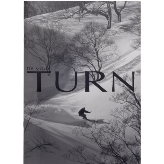 Pinup magazine  「It's your TURN VOL.2」(TURN Snowboard Special)