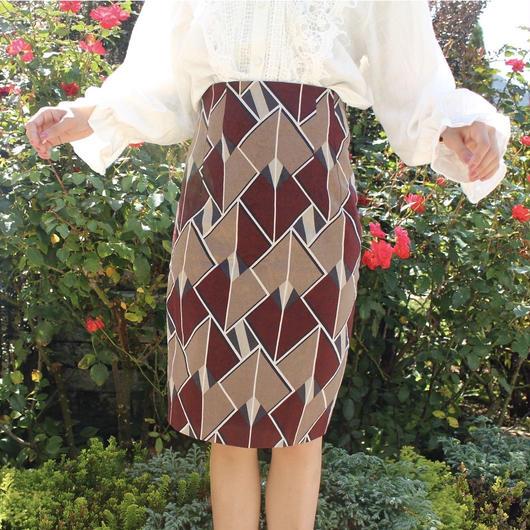 クラシカルゴブランミディスカート