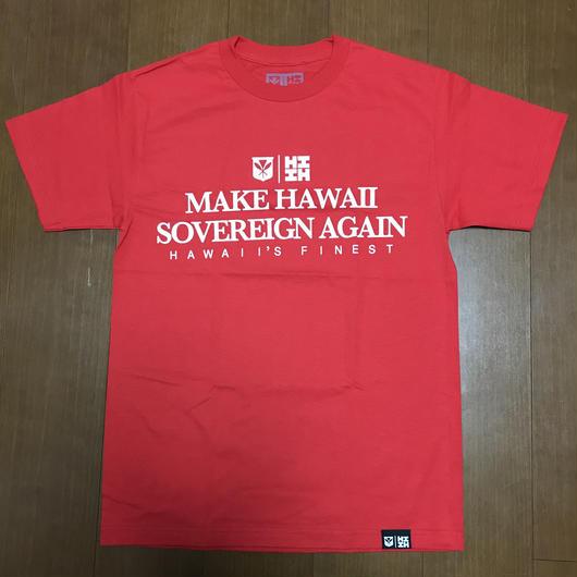 2019 PEPELUALI LINE【HAWAII'S FINEST】MAKE HI TEE001