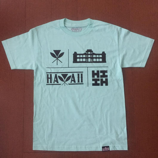 'OKAKOPA LINE【HAWAII'S FINEST】ICONS001 TEE
