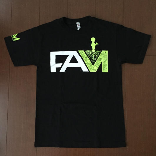 "FAM HAWAII ""Green Drop"" Tee"