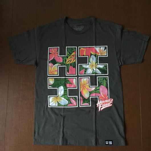 2018 AUKAKE LINE【HAWAII'S FINEST】FLORAL001 TEE(キッズ)