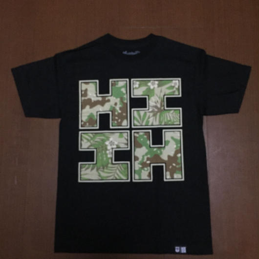 2018PEPELUALI LINE【HAWAII'S FINEST】CAMO FLORAL001 TEE