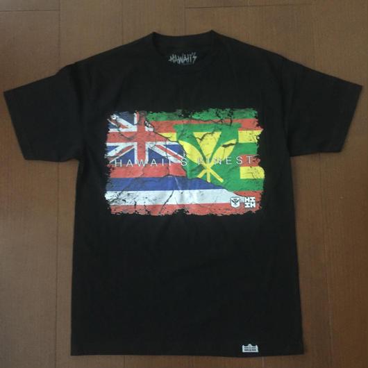 "'OKAKOPA LINE【HAWAII'S FINEST】FLAG002 ""KIDS"" TEE"
