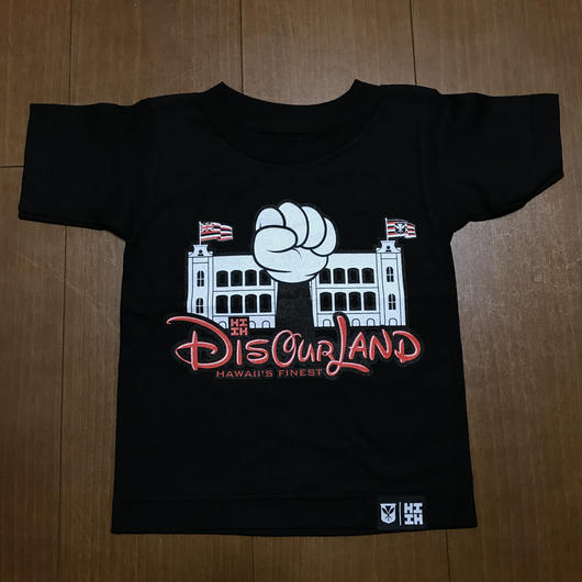 2018 AUKAKE LINE【HAWAII'S FINEST】OUR LAND002 TEE(キッズ)